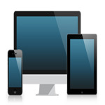 mobile, tablet, desktop devices